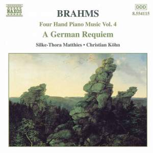 Brahms: Four-Hand Piano Music, Volume 5 Product Image