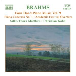 Brahms: Four-Hand Piano Music, Volume 9 Product Image