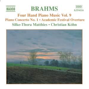 Brahms: Four-Hand Piano Music, Volume 9