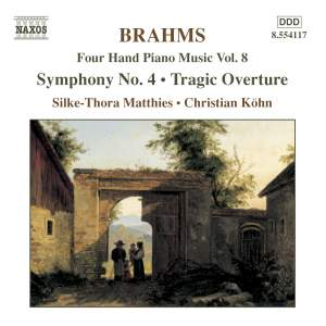 Brahms: Four-Hand Piano Music, Volume 8 Product Image