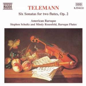 Telemann: Duos (6) for 2 flutes or violins, TWV 40:101-106, Op. 2