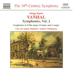 Vanhal: Symphonies, Vol. 2