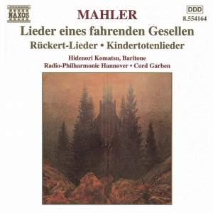 Mahler: Lieder eines fahrenden Gesellen & other Lieder Product Image