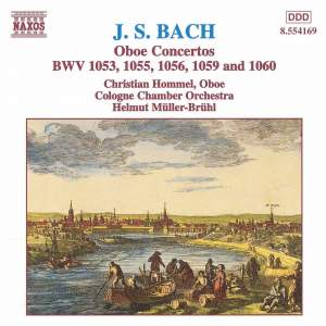 Bach: Oboe Concertos Product Image