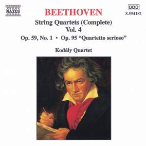 Beethoven: Complete String Quartets, Vol. 4 Product Image