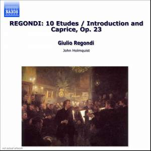 Regondi: Introduction and Caprice, Etudes & Fete Villageoise