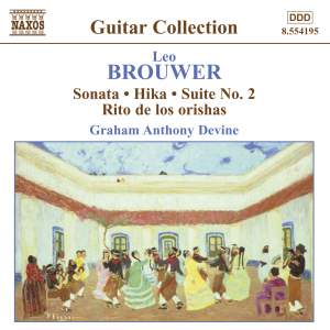 Brouwer - Guitar Music Volume 3