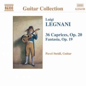 Luigi Legani: Caprices, Op. 20 & Fantasia, Op. 19