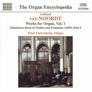 Van Noort: Works for Organ Vol. 1 Product Image