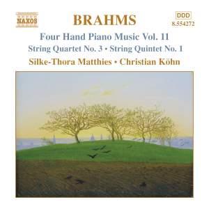 Brahms: Four Hand Piano Music, Volume 11