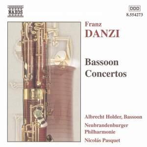 Danzi: Bassoon Concertos Product Image