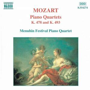 Mozart: Piano Quartet Nos. 1 & 2 Product Image