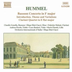 Hummel, J: Bassoon Concerto, W23, etc.
