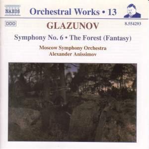 Glazunov - Orchestral Works Volume 13 Product Image