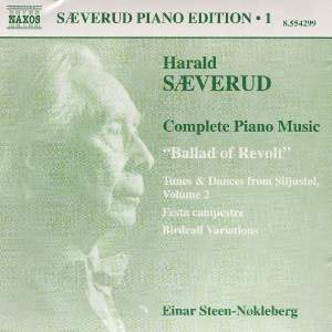 Saeverud: Complete Piano Music, Vol. 1