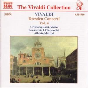 Vivaldi: Dresden Concertos, Vol. 4 Product Image