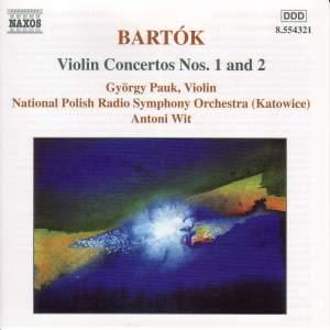 Bartók: Violin Concertos Nos. 1 & 2 Product Image