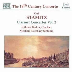 Carl Stamitz.: Clarinet Concertos, Vol. 2 Product Image