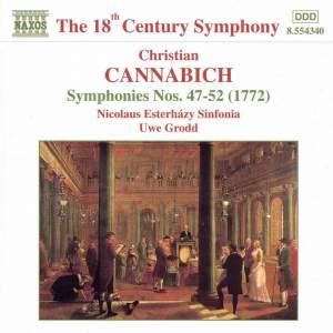 Johann Christian Cannabich: Symphonies Nos. 47 - 52 Product Image