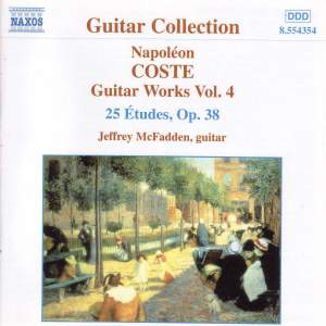 Coste: Guitar Works, Vol. 4