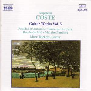 Coste: Guitar Works, Vol. 5 Product Image