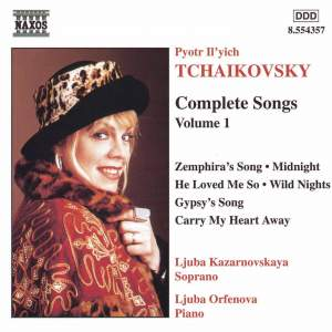 Tchaikovsky - Complete Songs Volume 1