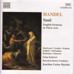 Handel: Saul Product Image