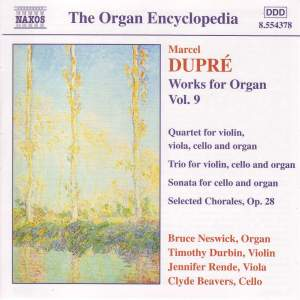 Dupre: Works For Organ, Vol. 9 Product Image