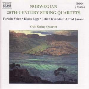 Norwegian 20th Century String Quartets