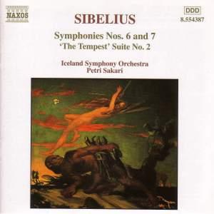 Sibelius: Symphony Nos. 6 & 7