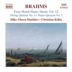 Brahms: Four Hand Piano Music, Volume 12