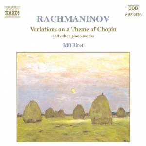 Rachmaninov: Variations on a Theme of Chopin Product Image