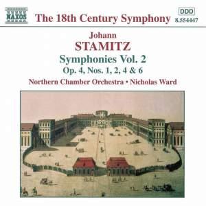 Johann Stamitz: Symphonies, Vol. 2 Product Image