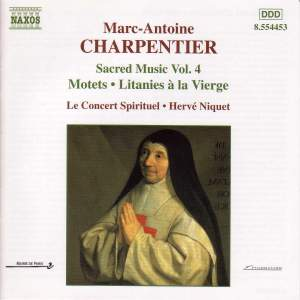 Marc-Antoine Charpentier - Sacred Music, Volume 4 Product Image