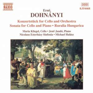 Dohnányi: Konzertstück for Cello & Orchestra Product Image