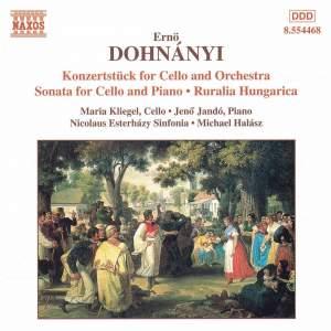 Dohnányi: Konzertstück for Cello & Orchestra
