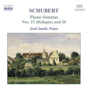 Schubert: Piano Sonata No. 20 in A major, D959, etc. Product Image