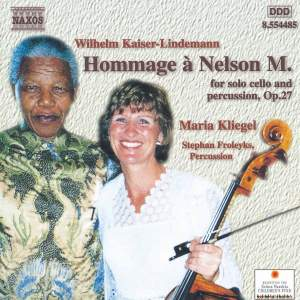 Kaiser-Lindemann: Hommage à Nelson Mandela for solo cello and percussion, Op.27 Product Image