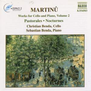 Martinu: Works for Cello and Piano Vol. 2 Product Image