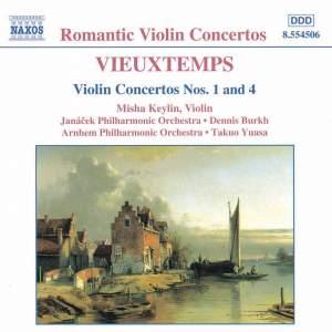Vieuxtemps: Violin Concertos Nos. 1 & 4