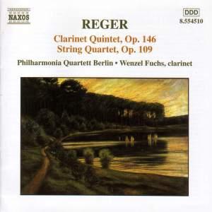 Reger: Clarinet Quintet & String Quartet Product Image