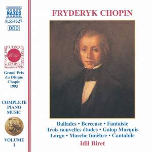 Chopin: Ballades, Fantaisie in F minor, 'Marquis' Galop and other piano works Product Image