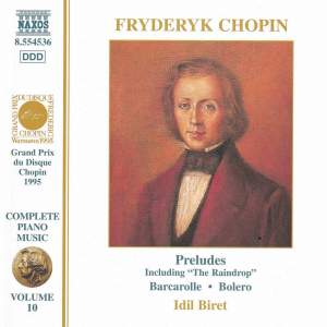 Chopin: Preludes, Barcarolle, Bolero & other piano works Product Image