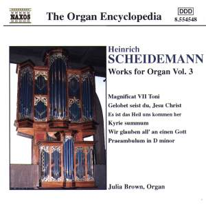 Scheidemann: Organ Works, Vol. 3
