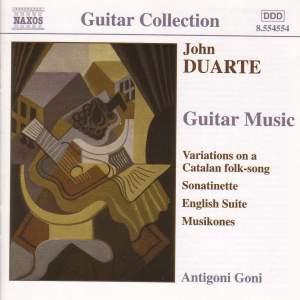 Duarte: Guitar Music Product Image