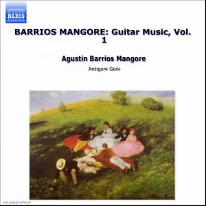 Barrios - Guitar Music Volume 1 Product Image