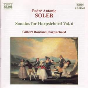 Soler - Sonatas for Harpsichord Volume 6