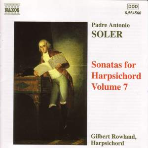 Soler - Sonatas for Harpsichord Volume 7 Product Image