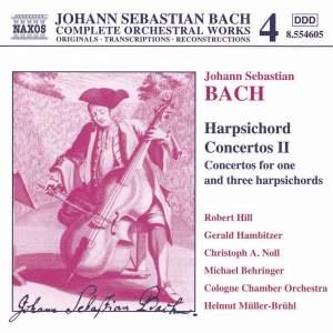 Bach, J.S.: Harpsichord Concertos, Vol. 2 Product Image