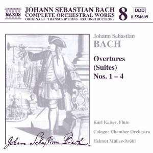 JS Bach: Orchestral Suites Product Image